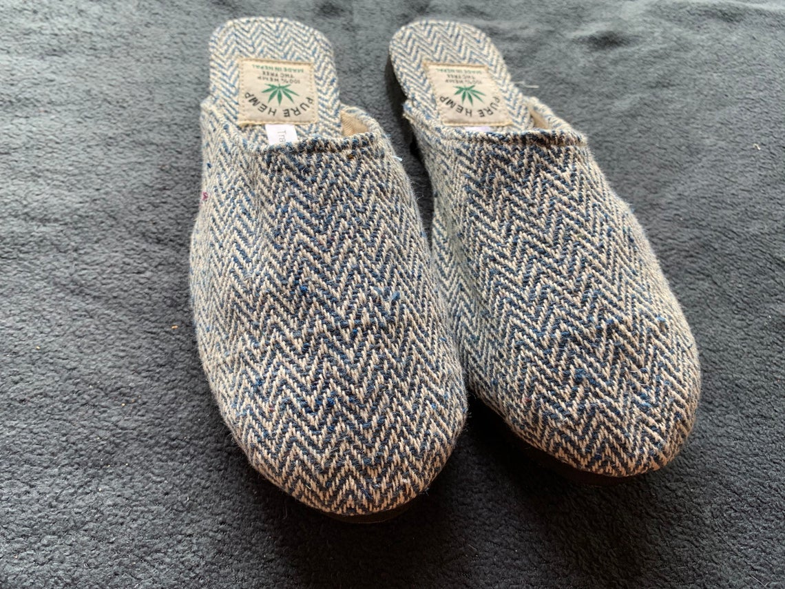 Causal Handmade Hemp Shoes